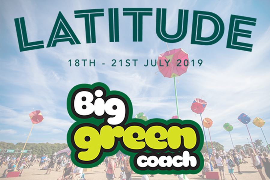 Travel to Latitude 2019 with Big Green Coach!