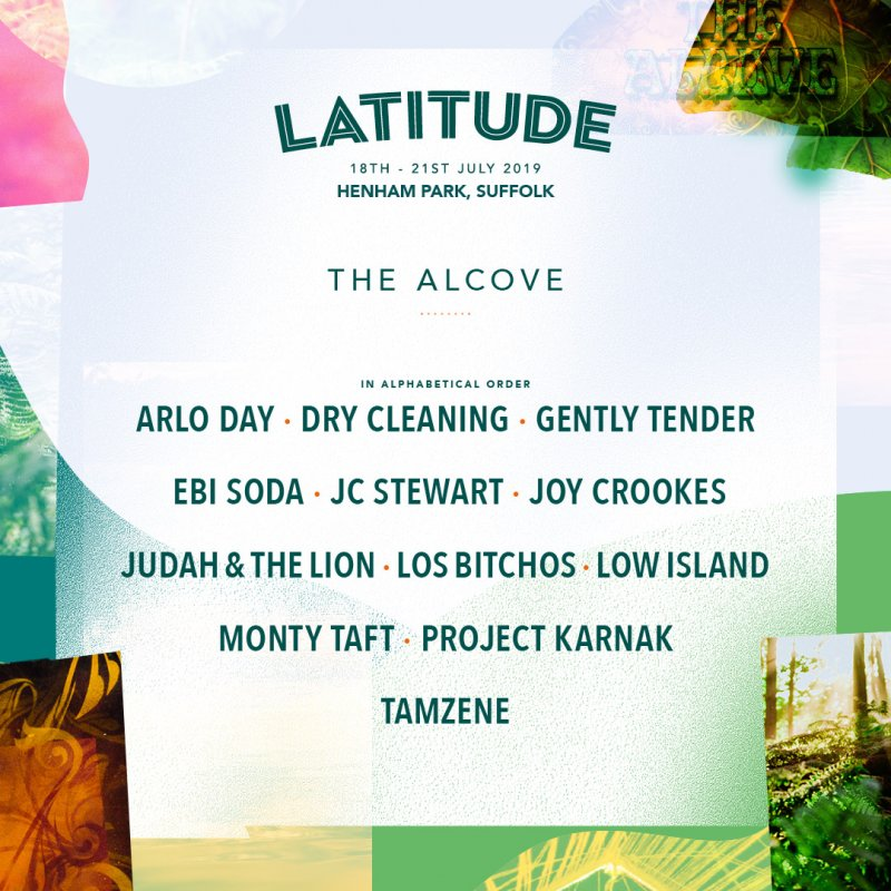 Latitude 2019 Line-Up