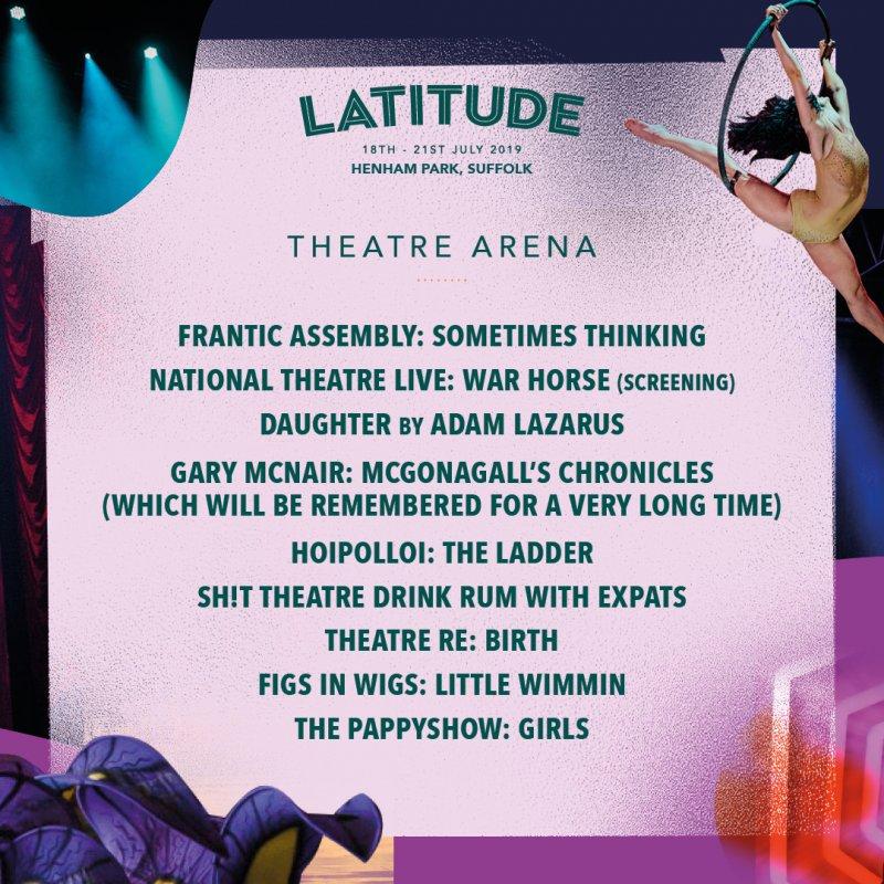 Latitude 2019 Line Up