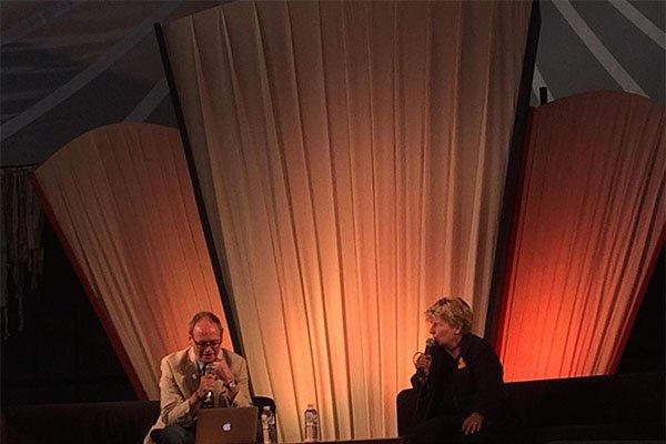 Sandi Toksvig in conversation with John Lloyd