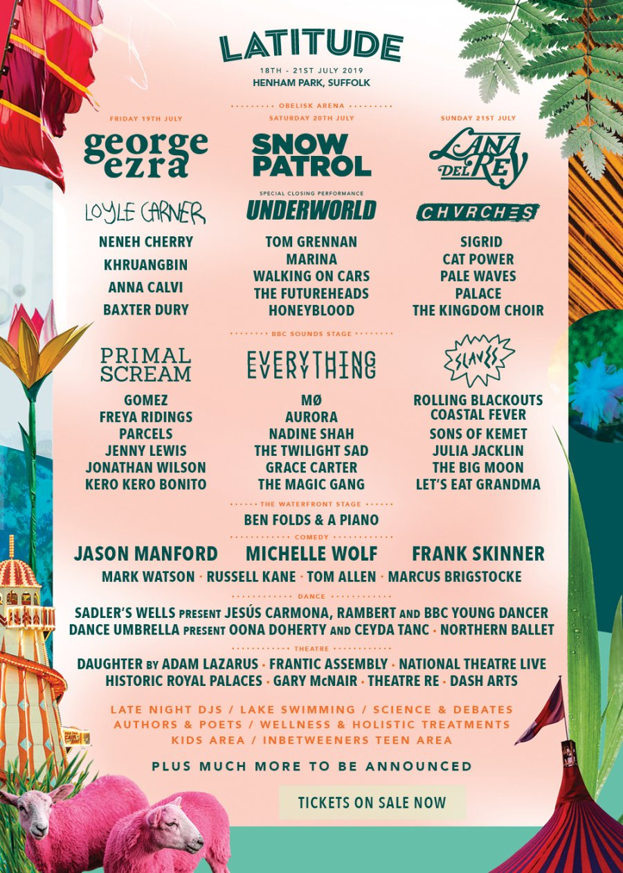 Latitude 2019 Day Splits