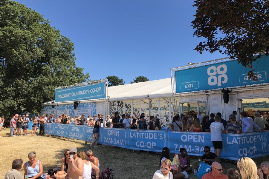 Co-op are back at Latitude 2019!
