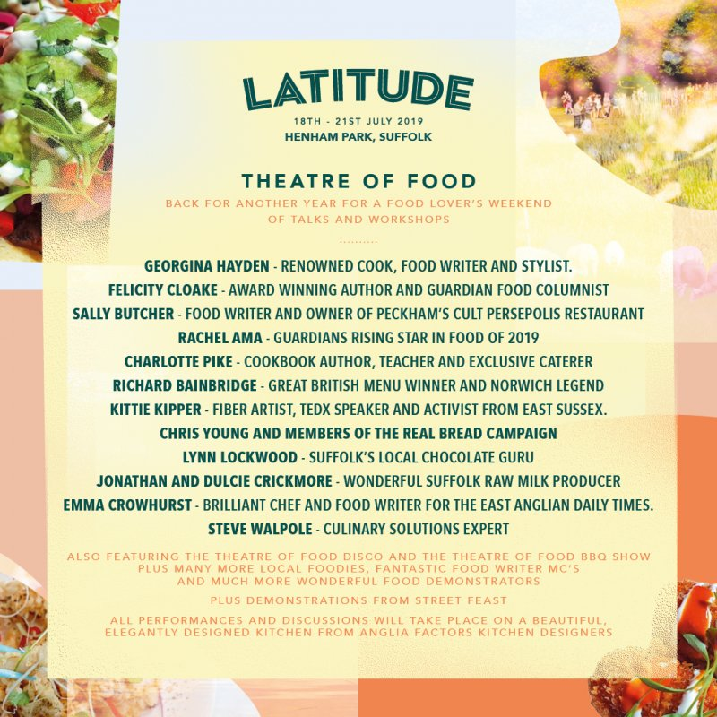 Theatre of Food featuring Georgina Hayden, Felicity Cloake and more