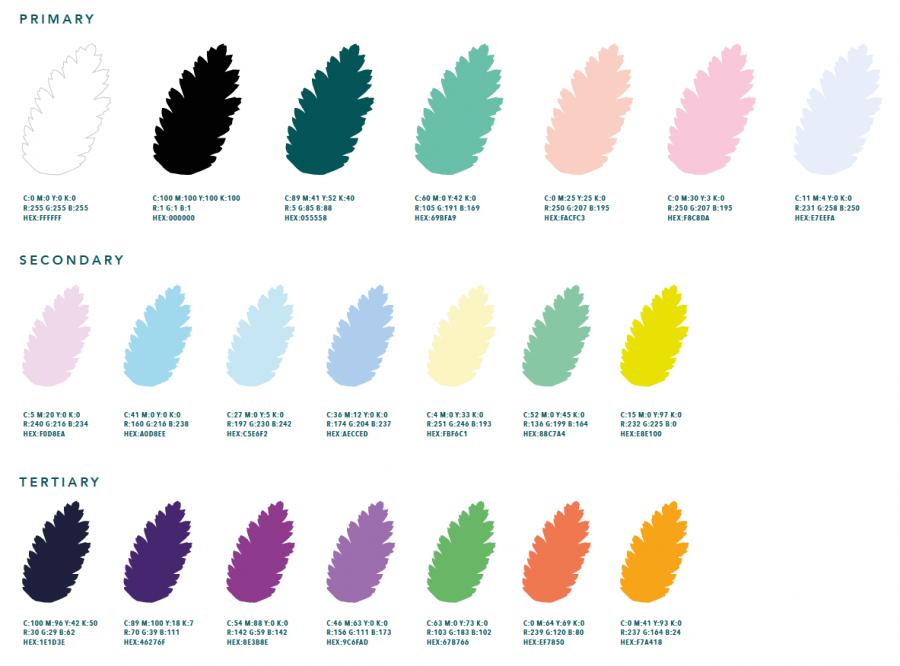 Latitude 2019 Colour Guide