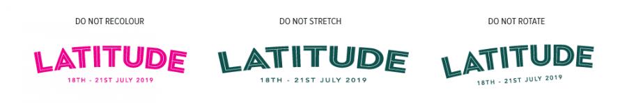 Latitude Logo Donts