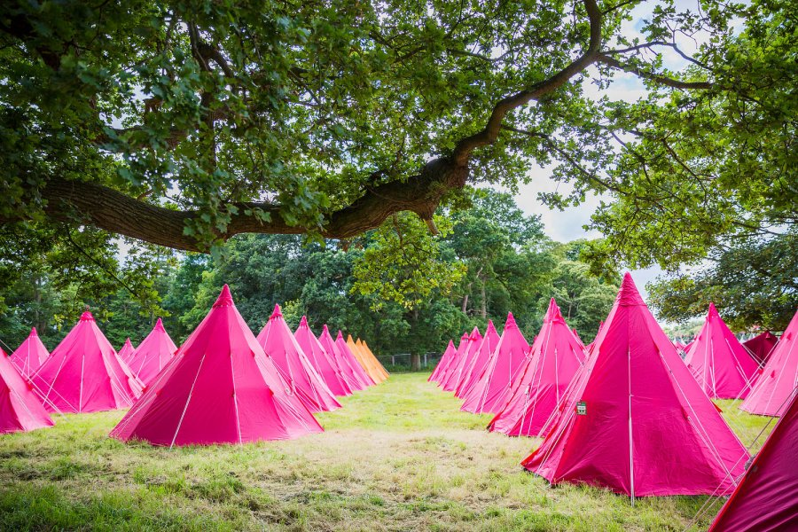 Camp in comfort  with Pink Moon at Latitude 2019