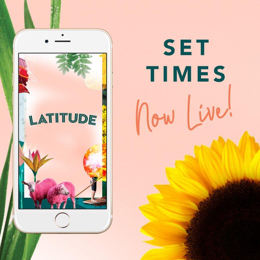Latitude App Set Times