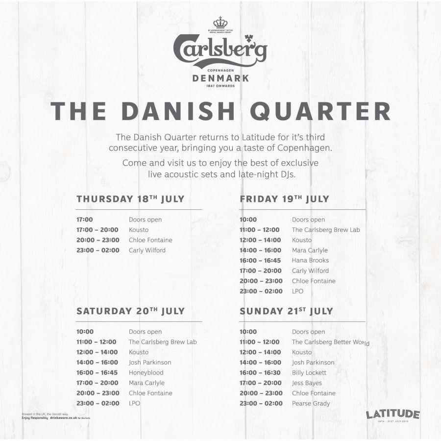 Carlsberg Danish Quarter Programme