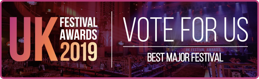 Vote now! UK Festival Awards 2019