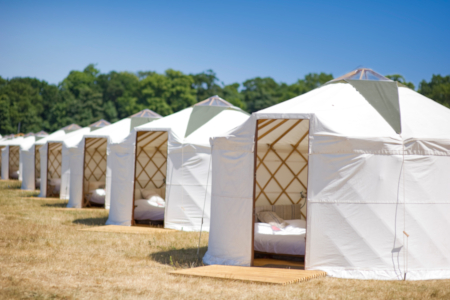 Luxury Yurt for 2