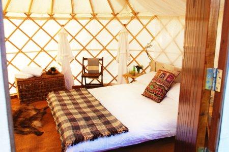Luxury Yurt for 2