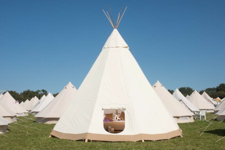 Luxury Tipi for 2 or 4