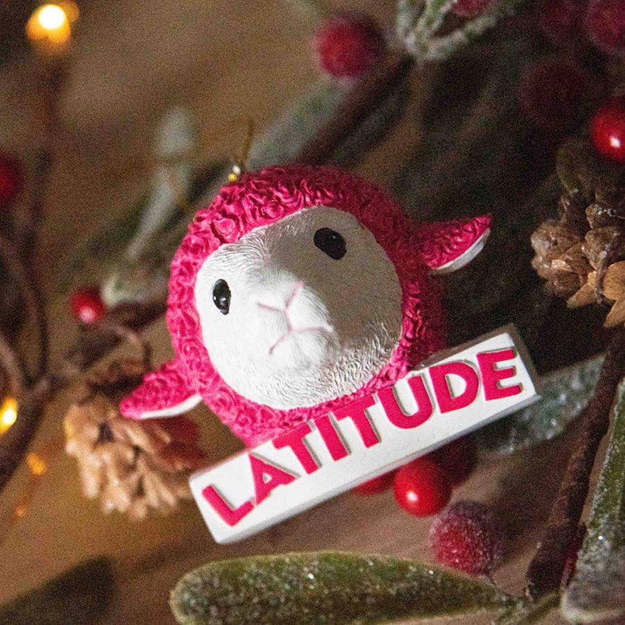 Latitude 3D Sheep Bauble