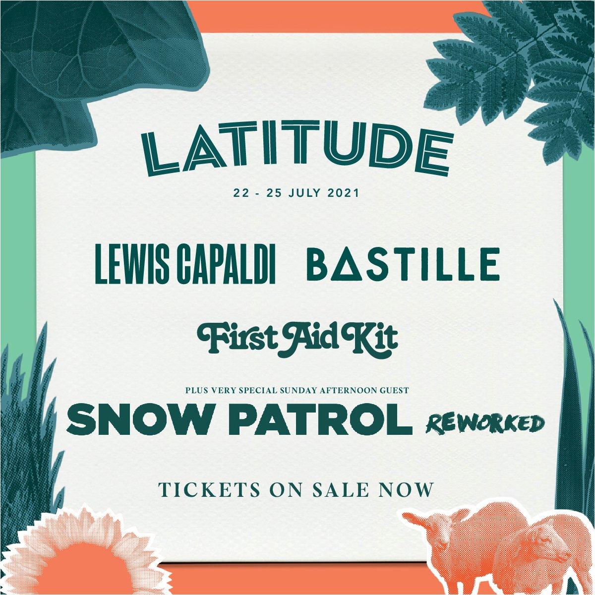 Latitude 2020 Line Up Poster